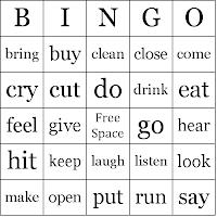 Action verbs atau kata kerja dengan orientasi bertindak