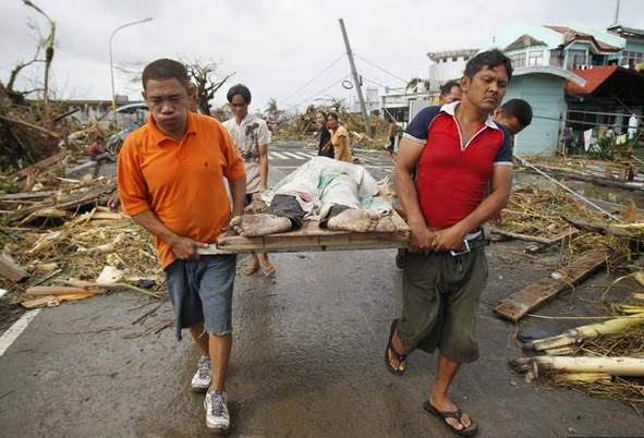 Death toll in Leyte around 118