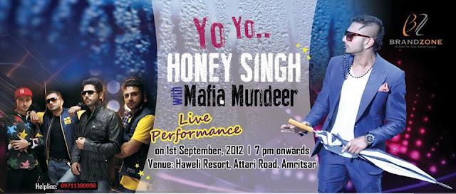Yo ! Yo ! Honey Singh ...