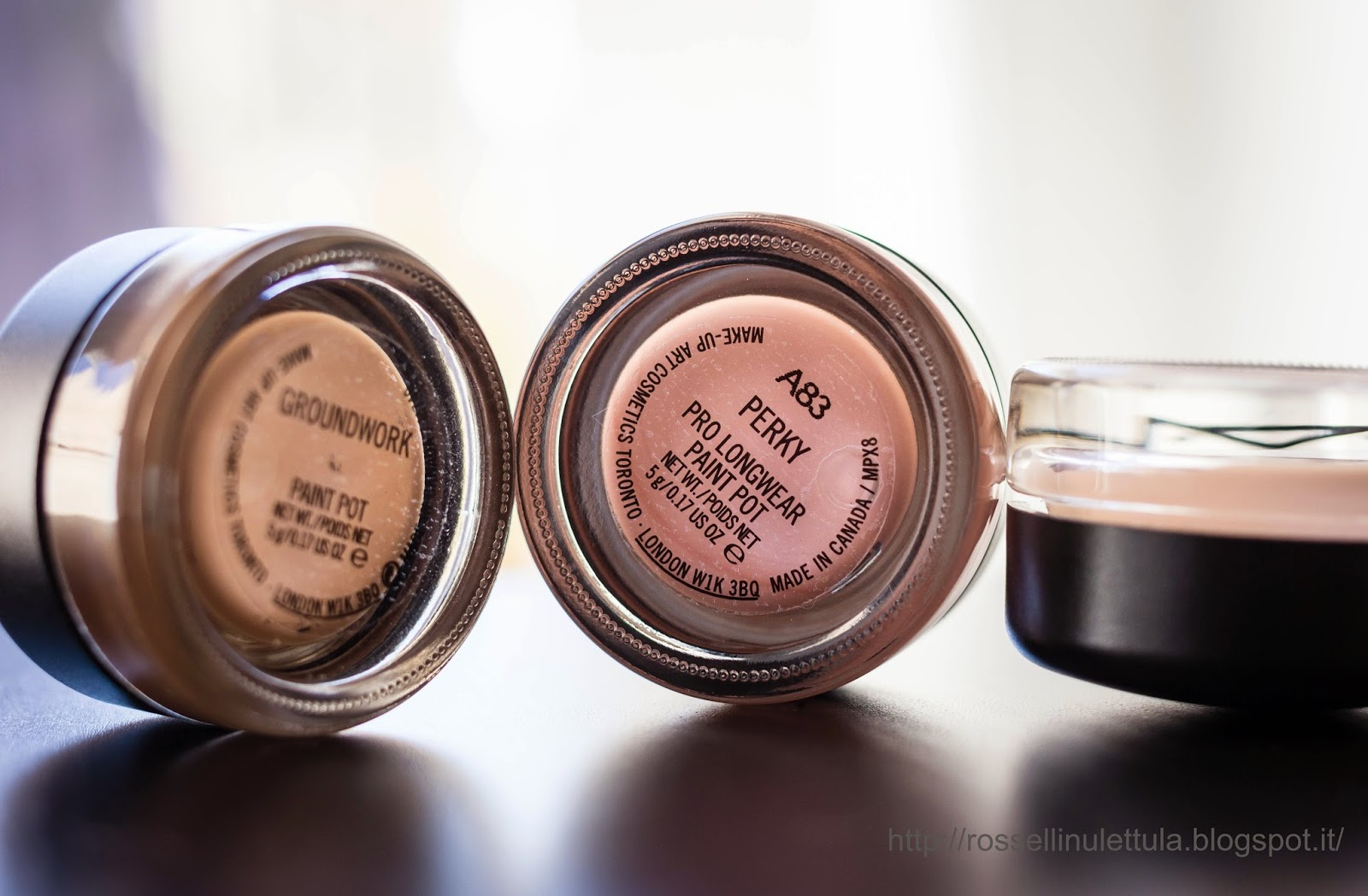 I miei Paint pot - MAC cosmetics