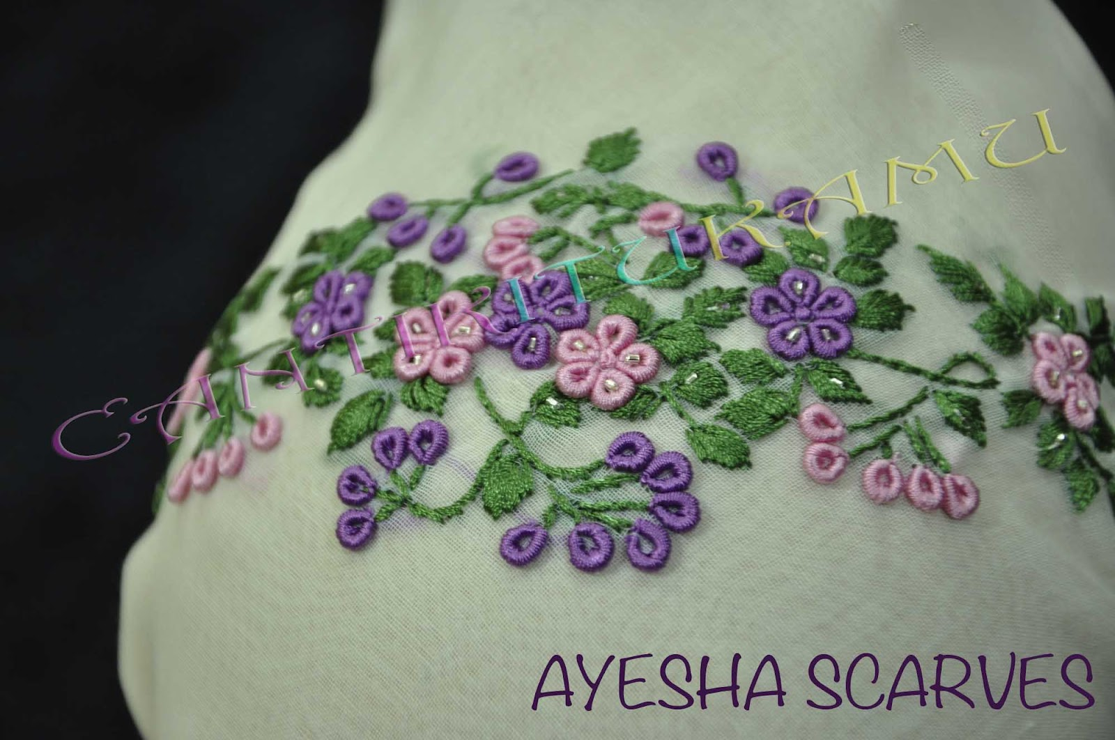 AYESHA SCARVES-SOLD OUT-TQ!