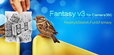 Aplikasi Edit Foto Terbaik 'Fantasy' for Camera360