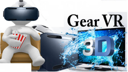 Watch 3D movies on Samsung Gear VR