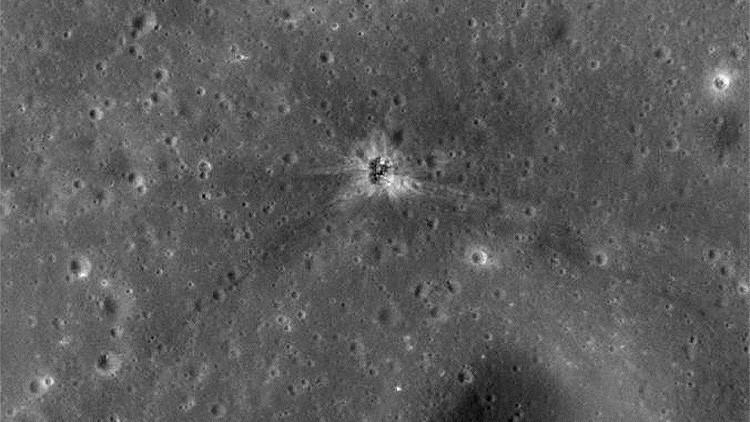 Hallado el cráter de la superficie lunar donde se estrelló el cohete de la misión Apollo 16.