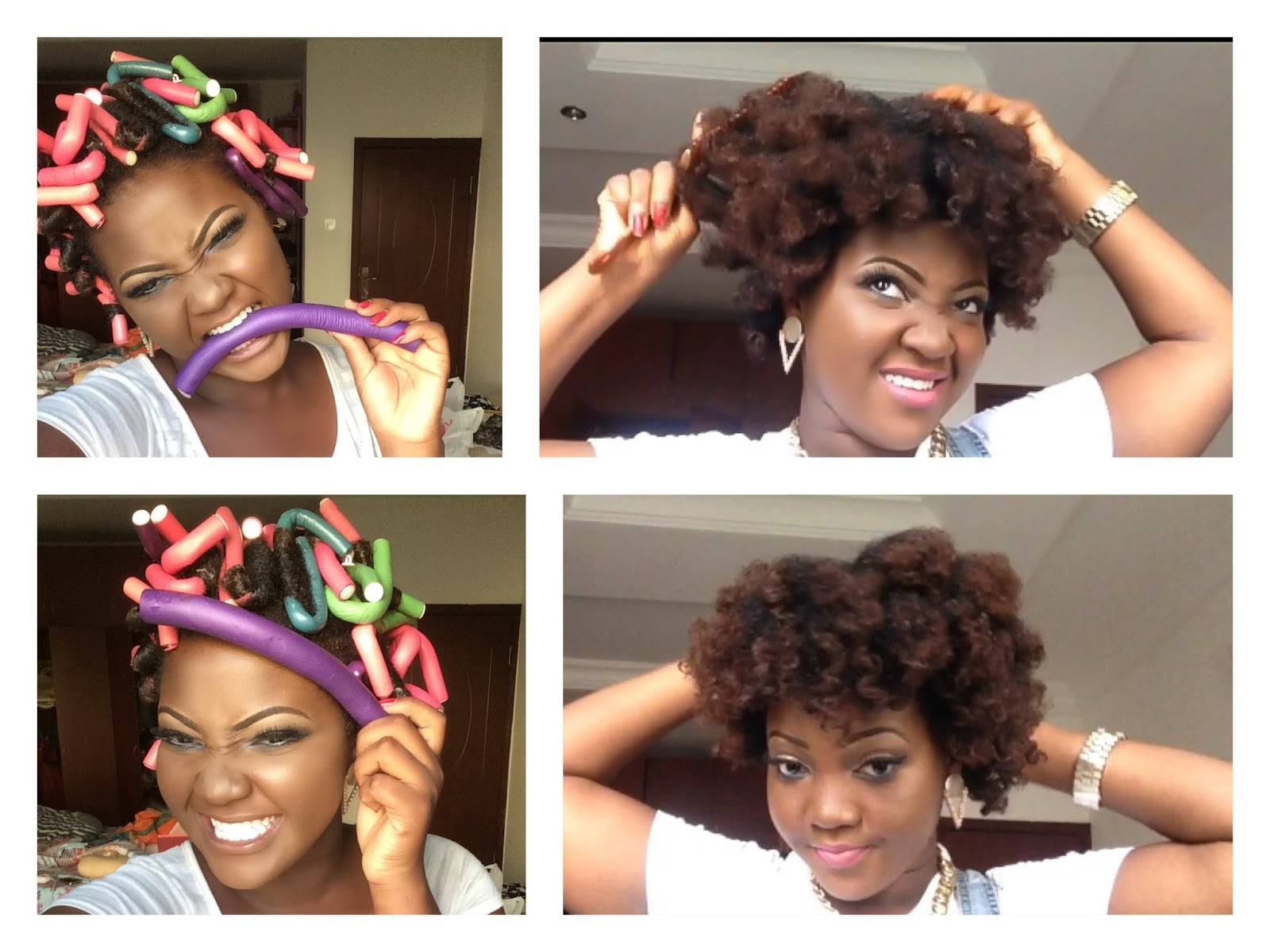 Uwani aliyu hair how i use flexi rodsbendy rollers on my in the video im using about 40 flexi rods bendy rollers on my hair my natural 4b4c hair im using cantu shea curl activator cream and water and baditri Choice Image