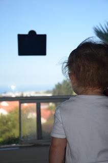 iMagnet on the window