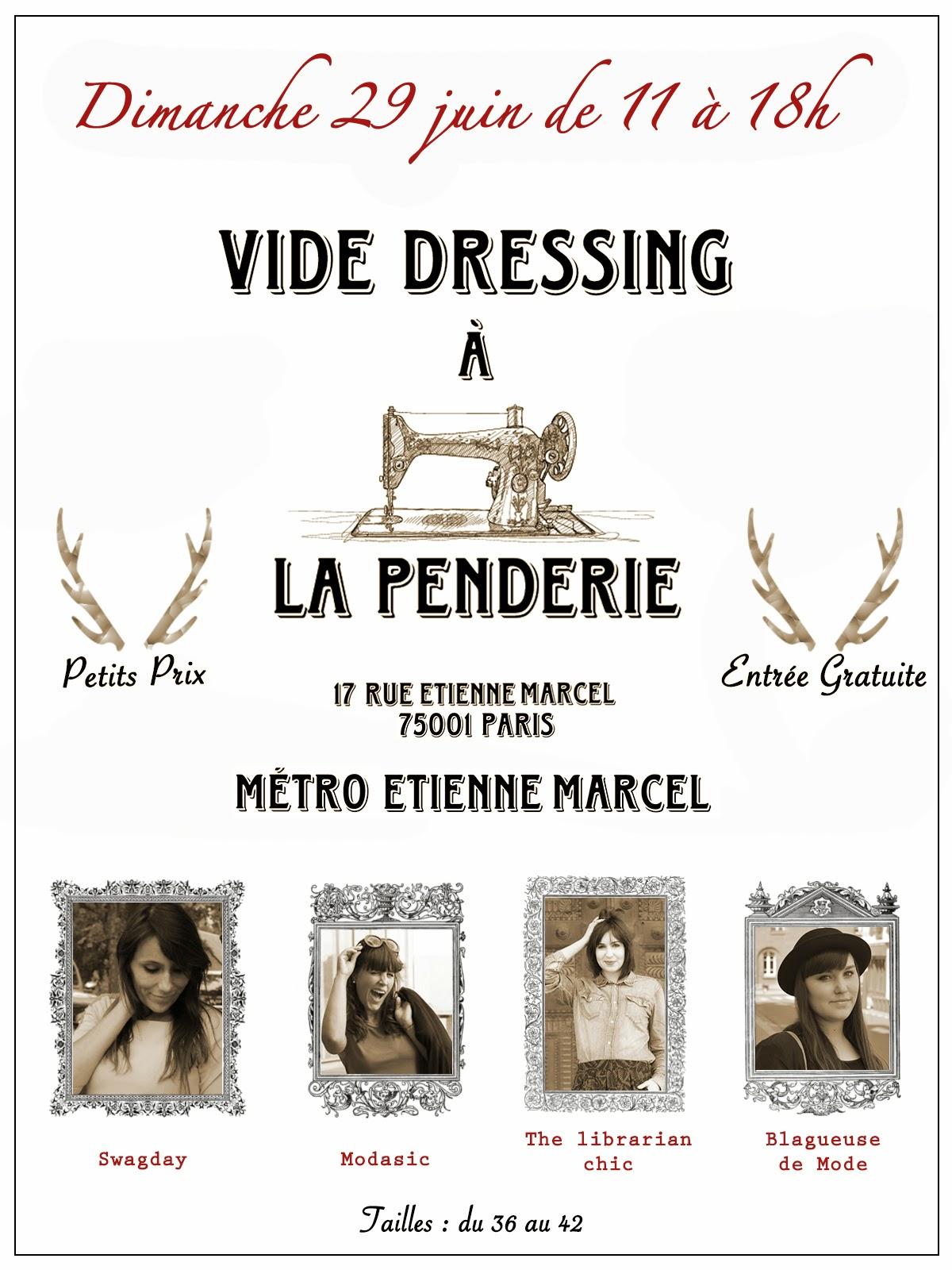 vide-dressing, blogueuse-mode, blogueuses-mode, La-Penderie, restaurant-La-Penderie, Modasic, Swagday, Blagueuse-Mode, The-Librarian-Chic, petis-prix, vêtement-pas-cher, vêtement-femme-pas-cher, robe-pas-cher, escarpins-pas-cher, robes-pas-cher, petite-robe-noire, destockage, friperie, chaussures-femmes, robe-longue-pas-cher
