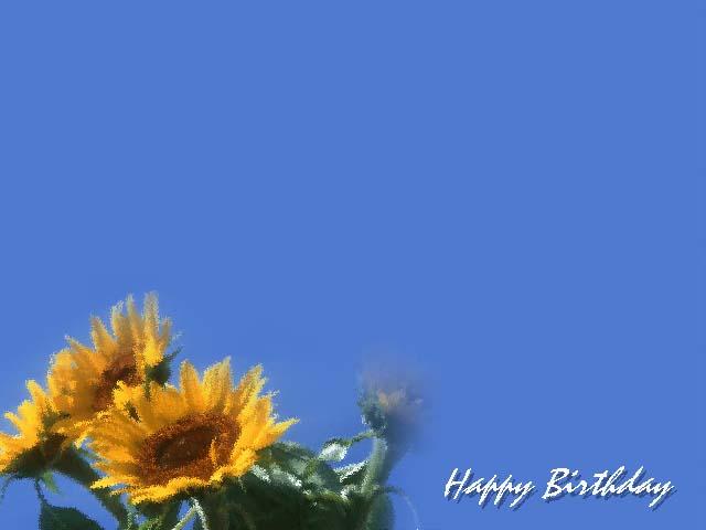 ... koleksi desain kartu ucapan ulang tahun dengan model background polos