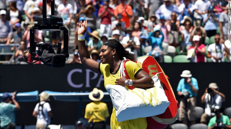 Serena Willians Defeats Maria Sharapova For The 18th Straight Time, Advances To The Australian Open Semifinals