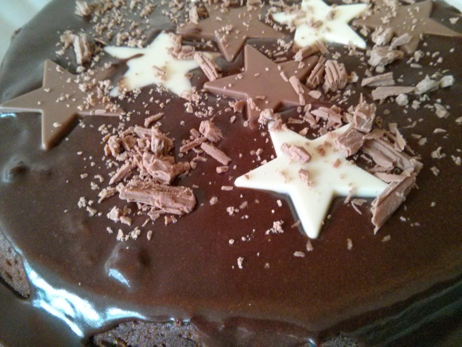 Chocolate Maths Cake