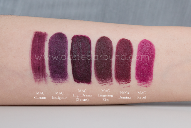 Mac liquid lipstick high drama swatches