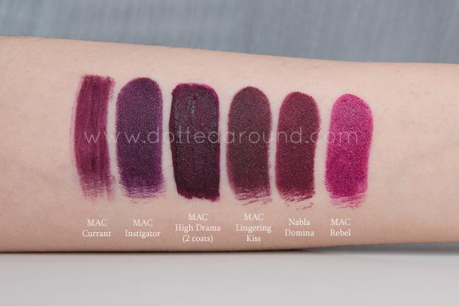 Mac liquid lipstick high drama swatches