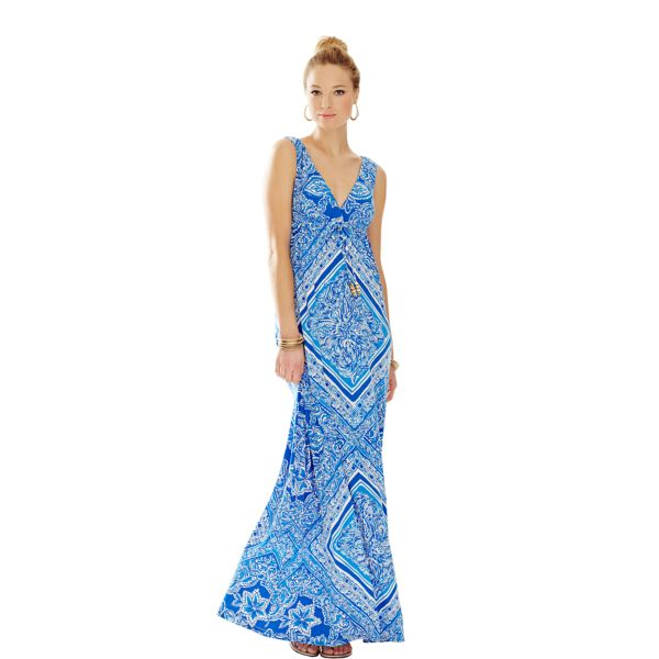lilly pulitzer miraflora maxi dress