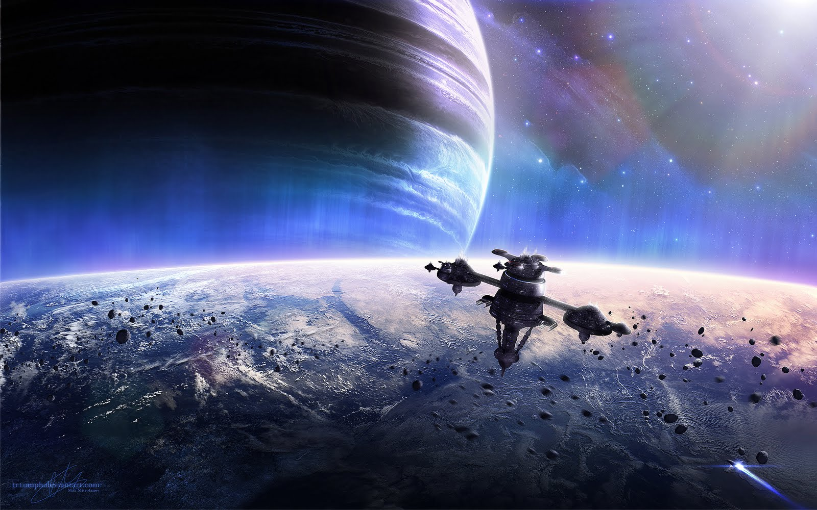 Blogger For Wallpaper: space station wallpaper