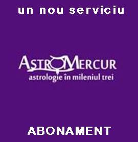 ABONAMENT Consiliere Astrologica