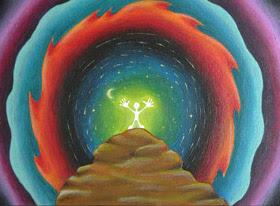 Sciamano dipinti vajra corsi incontri seminari quadro disegno pittura spirituale arte zen