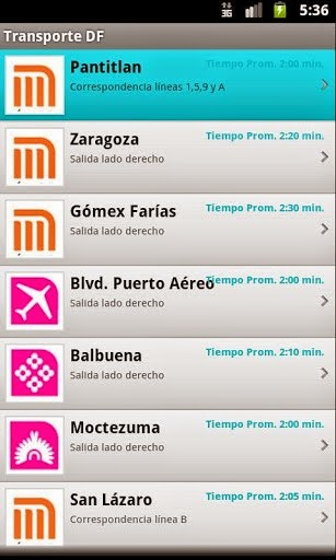App Metro y Metrobús para Windows PC