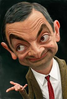 Caricatura do Mr. Bean - 1
