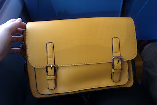 Mustard Yellow Satchel