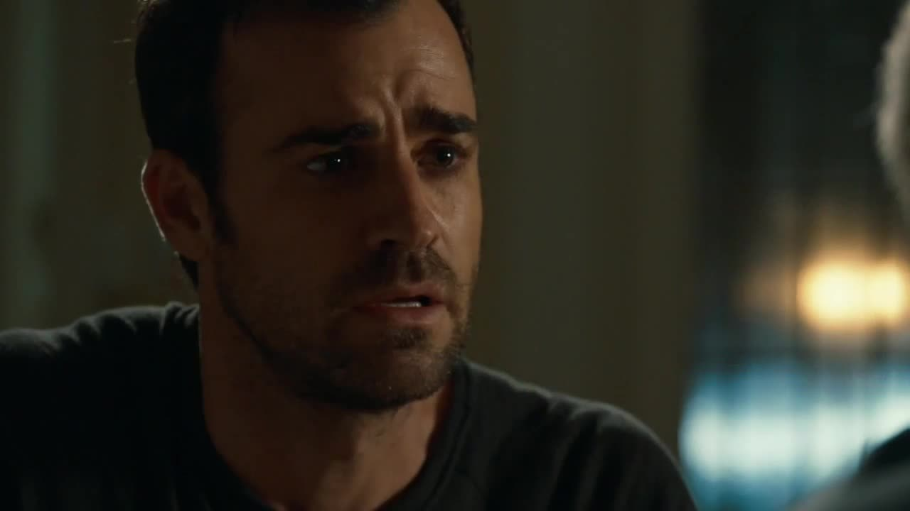 Kevin Garvey (Justin Theroux) en The Leftovers 1x09