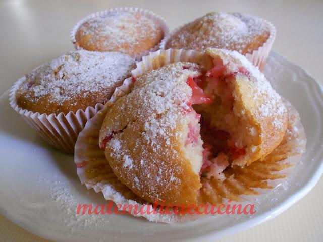 muffins alle fragole 2- merendine senza olio di palma