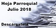 Hoja Parroquial Julio 2018