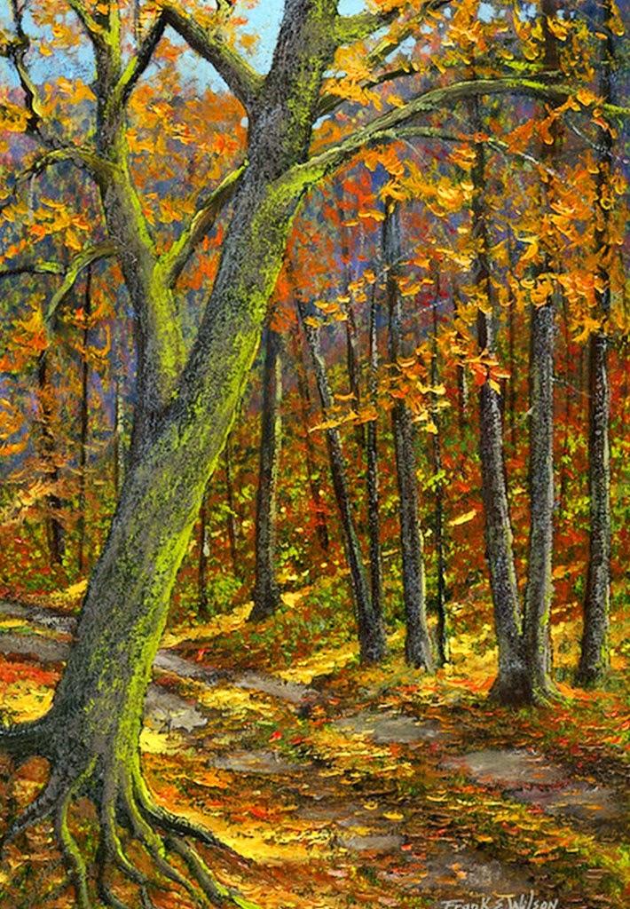 Cuadros modernos pinturas y dibujos paisajes hermosos for Cuadros pintados al oleo