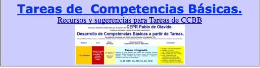 TAREAS COMPETENCIALES