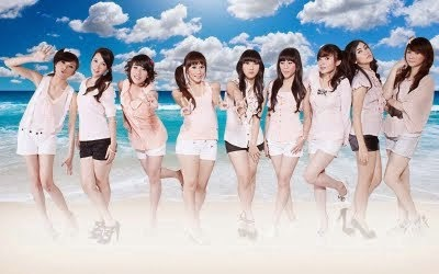 Foto Cherry Belle Girl Band, Foto Cherry Belle Girl Band Terbaru