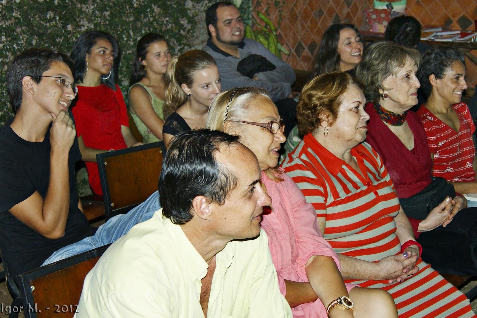 Sarau com Mano Melo e convidados no Espaço Semear. Foto: Igor M.