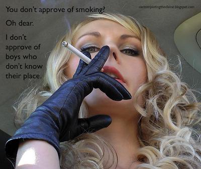 Smoking domme POV oh my!