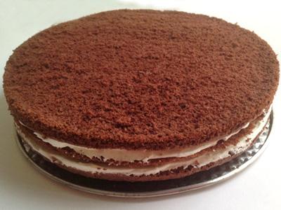 Base de chocolate para tartas