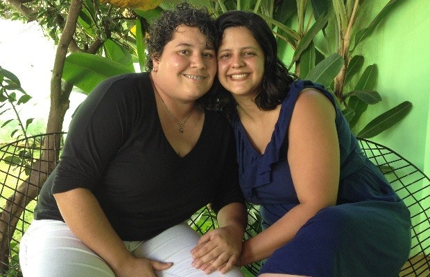 Michelle e Thayse já planejam o segundo filho (Foto: Humberta Carvalho)