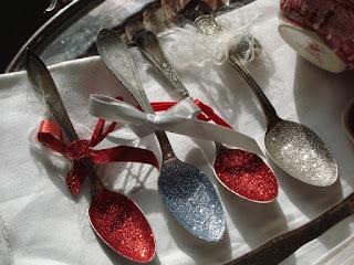 Glitter Spoons