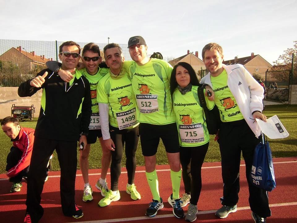 M s kil metros corredora popular media marat n de getafe for Como llegar a getafe