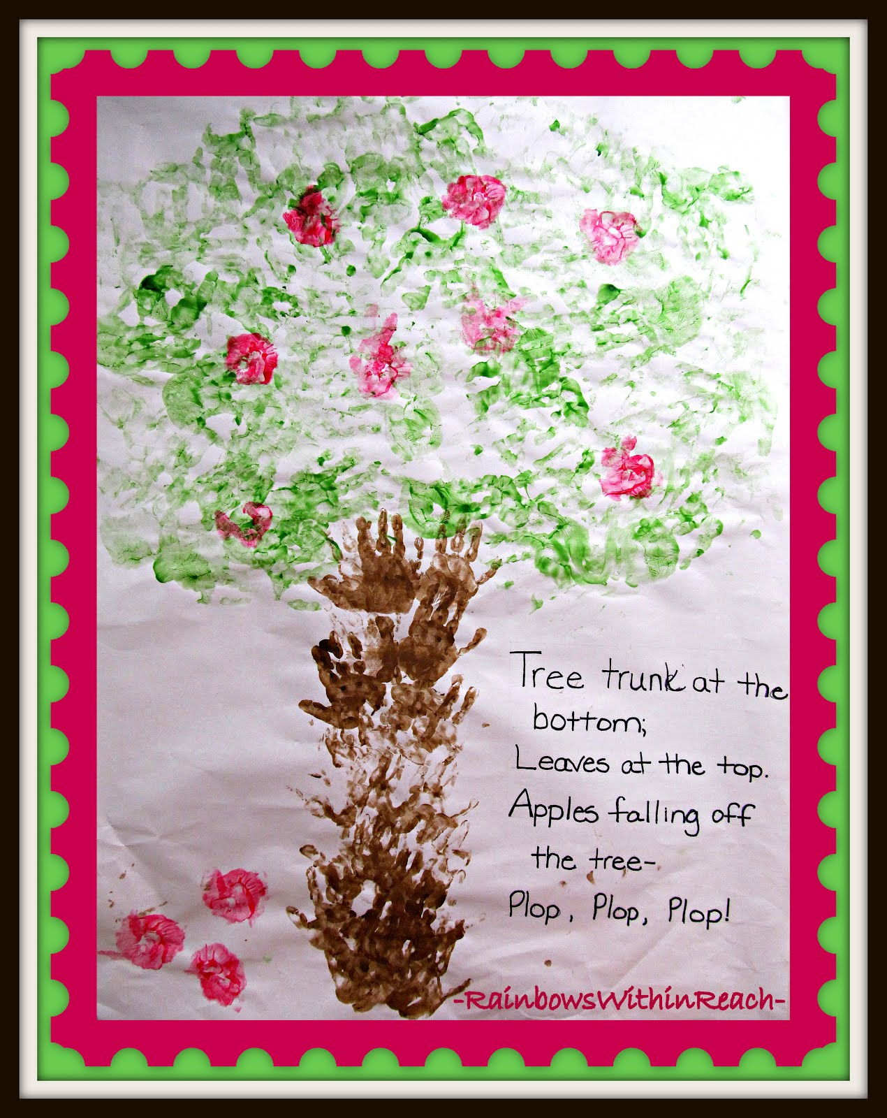 Back to School Bulletin Board on Apple Theme: Cooperative Art Project ...