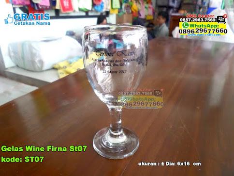Gelas Wine Firna St07