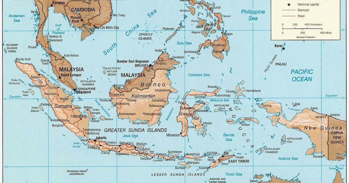 Letak Indonesia Secara Geografis Geologis Astronomis
