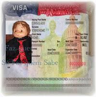 Visto de entrada nos Estados Unidos para não imigrante.