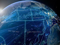 Video Mengagumkan Visualisasi Jalur Penerbangan Dunia