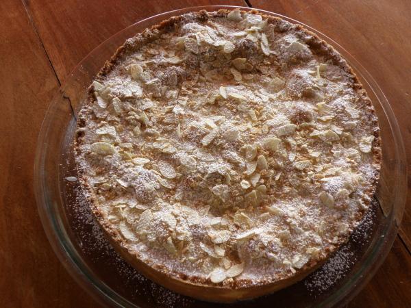 Sugarprincess: Gedeckter Apfelkuchen mit Cognacfülle