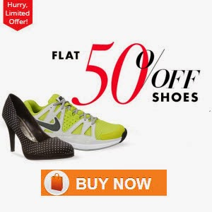 Jabong:Footwears upto 75% off + 32% off from Rs. 108