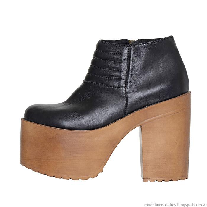 L'Tau otoño invierno 2015 zapatos y botas con plataformas.