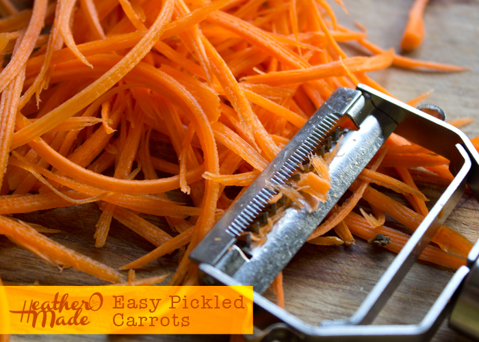 easy pickled carrots recipe
