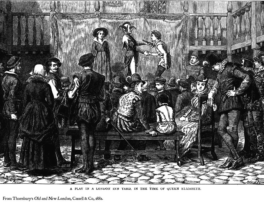 elizabethan theatre audience - photo #26