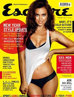 Irina Shayk Photoshoot, Irina Shayk Esquire Magazine Photoshoot