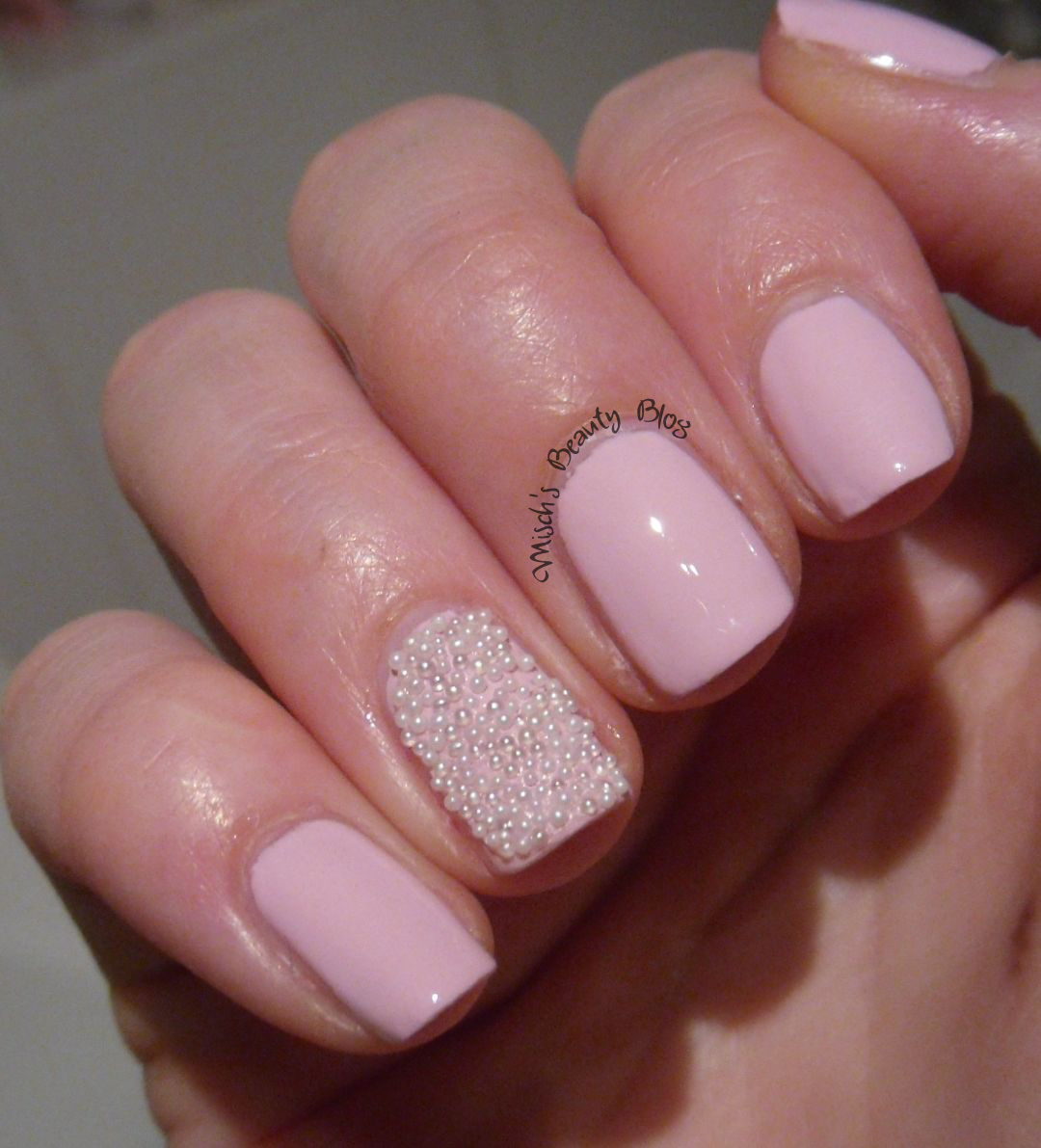 Cotton Candy Nail Color: Not A Chip On The Nail