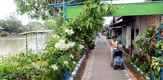 Kampung Wisata Jambangan Surabaya Jawa Timur