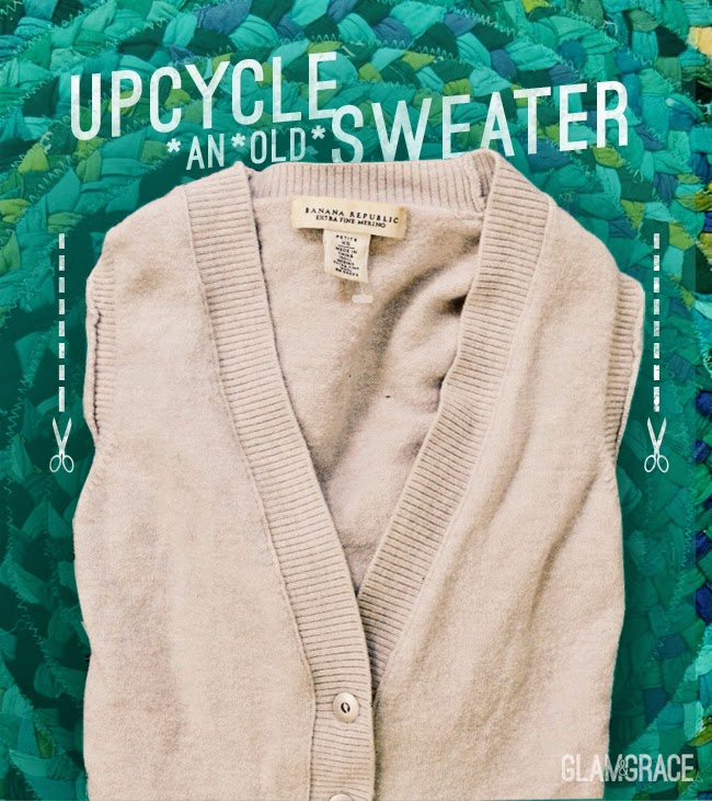 diy upcycled sweater