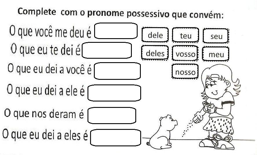 Muitas vezes Ensinar é dom de DEUS: Pronomes do caso reto,caso obliquo, de  DD74